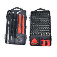 112 in 1 Screwdriver Set PC Cell Phone Maintenance Repair Tool Kit Magnetic Screwdriver Bit Torx Electronic Device Hand Tools