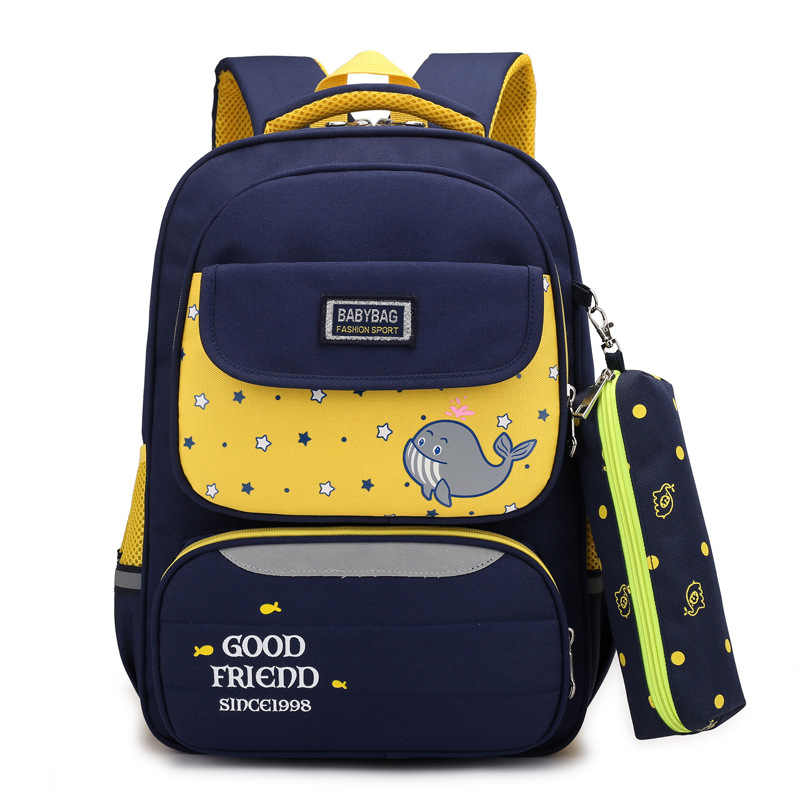Children School Bags Boys Girls Waterproof Orthopedic school Backpacks Child schoolbags kids Satchel Knapsack mochila infantil