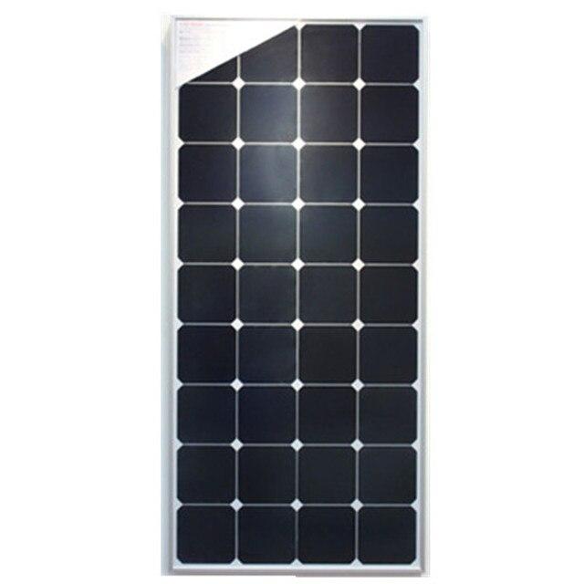 Promoción 110 W panel solar con el marco, células Sun Alimentación ...