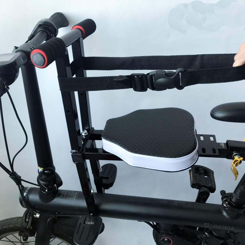 Bébé enfant vélo vélo chaise siège pour Xiaomi Mijia Qicycle EF1 vélo électrique pliable e bike selle enfants siège pliant chaise - 3