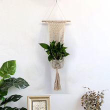 New Hanging Bohemian Macrame Woven Handmade Tapestry Knitting Wall Tapisserie Home Decoration Craft Wedding Gift GY21 sale 100