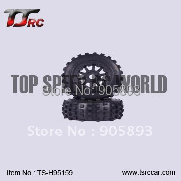 5T Knobby Rear Wheel Set (2)for Baja 5T Parts(TS-H95159),wholesale and retail+Free shipping!!!(Without Inner Foam ) baja 5t front on road wheel set for 1 5 baja 5t ts h95166 wholesale and retail free shipping