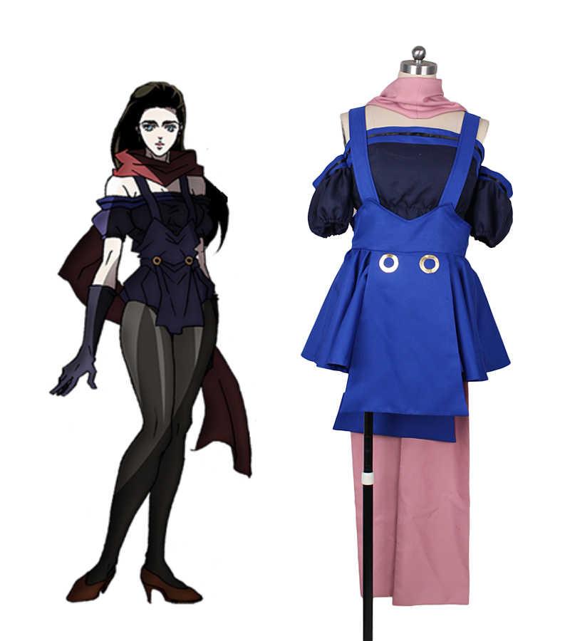 Lisa Lisa Cosplay JoJo's Bizarre Adventure Cosplay Lisa Lisa Cosplay Costume Custom Made|Game Costumes| - AliExpress