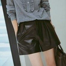2019 New Fashion Genuine Sheep Leather Shorts G8