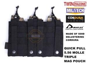 Image 2 - MILITECH Bolsa de almacenamiento de combate militar, TWINFALCONS TW delustrada Hypalon Triple M855, Mag, 5,56x45