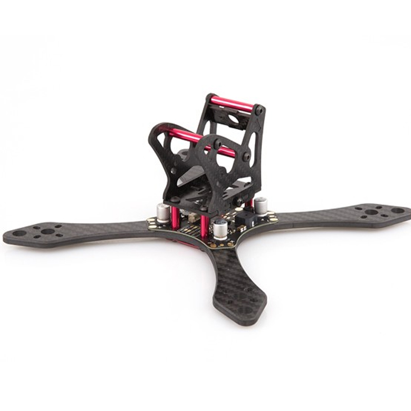 ФОТО RCTIMER BeeRotor Thunderbolt 190 4mm Carbon Fiber FPV Racing Quadcopter Frame with PDB Boards TD190