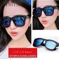 Receta-1.0-1.5-2.0-2.5-3.0-3.5-4.0 Moda Terminado Miopía gafas de Sol de Los Hombres mujeres Óptica Gafas de miope