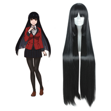 Anime Kakegurui Cosplay Wigs Jabami Yumeko Heat Resistant Synthetic 100CM Halloween Carnival Party