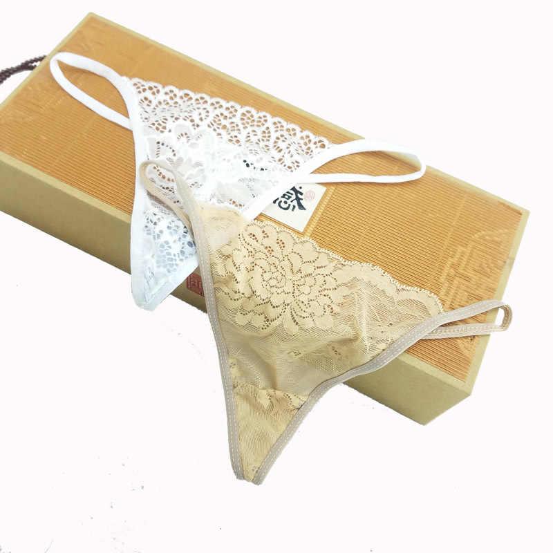 العديد من الدانتيل نمط المرأة القطن g-سلسلة السراويل ملخصات مثير الملابس الداخلية السيدات سراويل الملابس الداخلية السراويل ثونغ ملابس حميمة 3 قطعة ZHX96