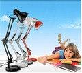 Lamparas де меса Американский Abajur Пункт Кварто Настольная Лампа LED Клип складной Пункт Исследование Работа Длинная Рука Складывающиеся Кварто Led Клип Лампы