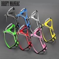Drift Maniac Carbon Fiber Cycling Water Bottle Cage MTB Road Bike Biycle Bottle Holder Ultra Light