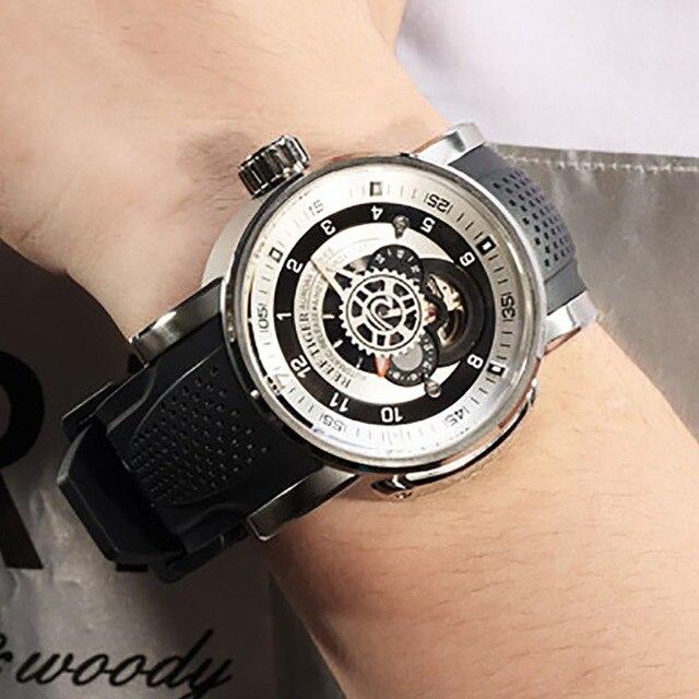 2020 חדש שונית טייגר/RT למעלה מותג ספורט שעון גברים עמיד למים מעצב אוטומטי שעונים רצועת גומי צבאי שעונים RGA30S7