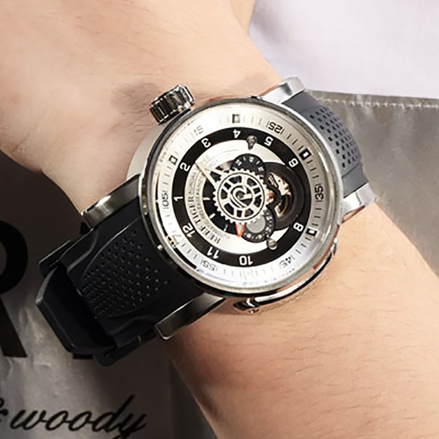2020 ใหม่Reef Tiger/RTแบรนด์ยอดนิยมกีฬานาฬิกาผู้ชายกันน้ำออกแบบนาฬิกาสายนาฬิกายางนาฬิกาRGA30S7