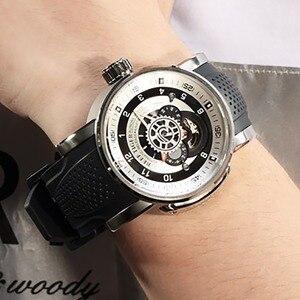 Image 1 - 2020 neue Riff Tiger/RT Top Marke Sport Uhr Männer Wasserdichte Designer Automatische Uhren Rubber Strap Militär Uhren RGA30S7