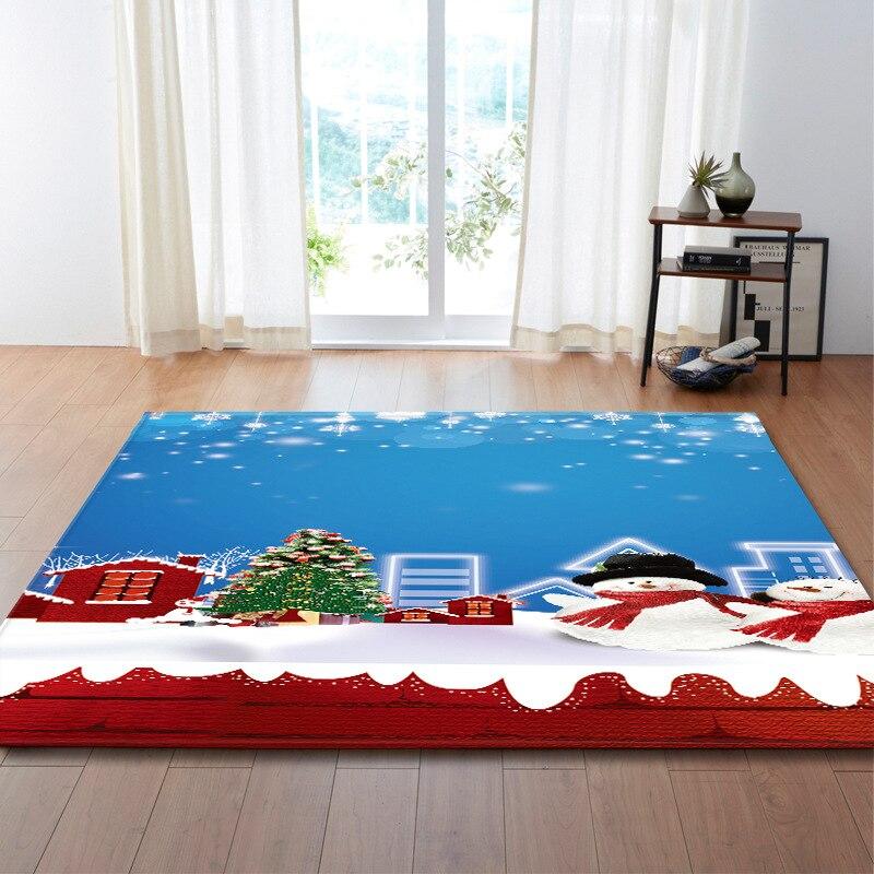Zeegle tapis motif de noël tapis pour salon grand tapis tapis de sol chambre moderne tapis de Yoga grand tapis bébé décor à la maison