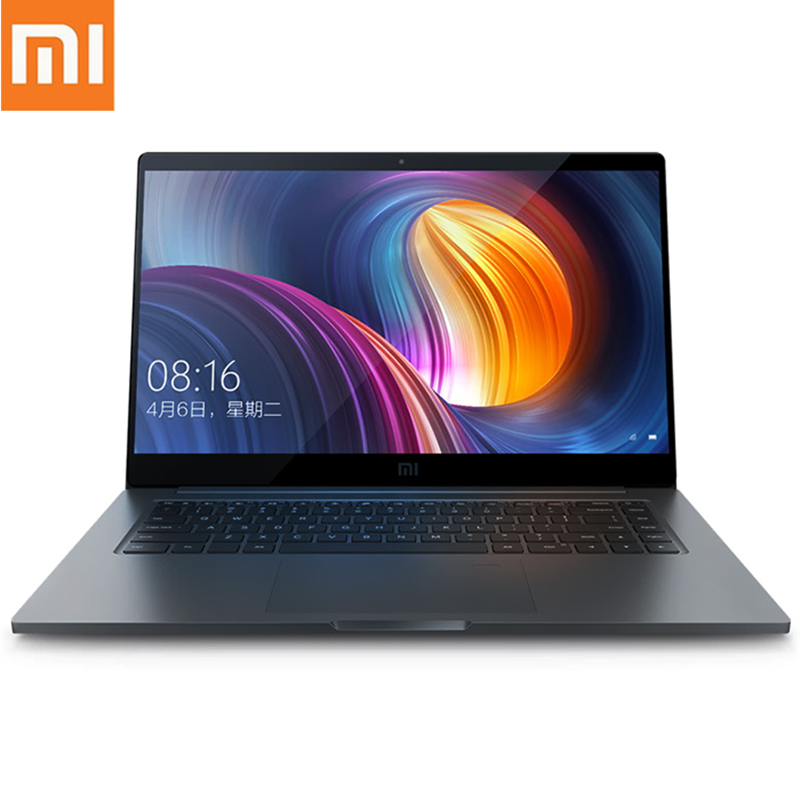 2019 Xiaomi Mi Pro Laptop 15.6 Inch Windows 10 Intel Core I7 - 8550U Quad Core 1.8GHz 16GB 256GB Home Version Backlight Notebook