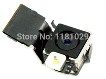 With Tracking Number 100% Original Replacement Rear / Back Camera with Flash Fit for iPhone 4S free shipping