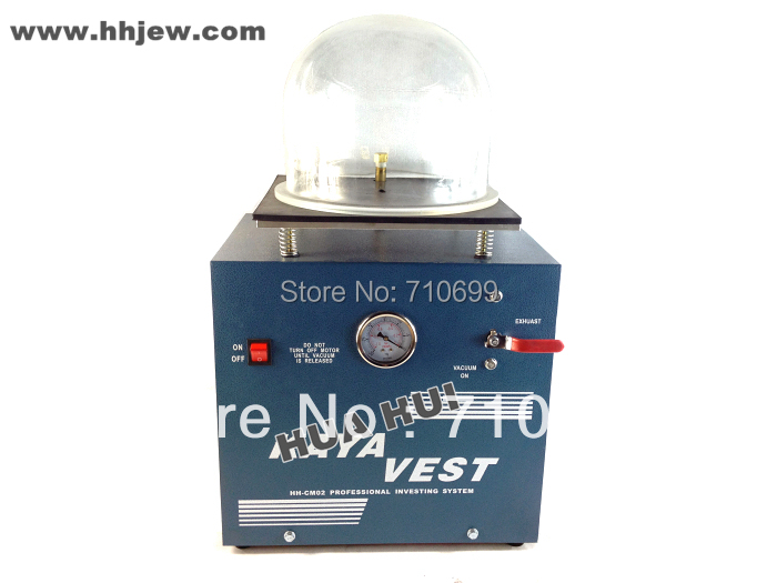 Table Top 220V Vacuum Investment Mini Vacuum Investing Machine with Pump, Jewelry casting Equipment 3cfm jewelry casting machine with vacuum pump kaya mini casting machine vacuum investment casting machine for jewelry tools