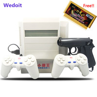 Subor D31 TV Game Console Bully 8 Bit Double Handle Nostalgic Classic Shooting Game 400 IN