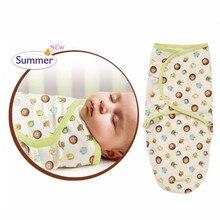 Nouveau-né Bébé Emmailloter Coton Sleepsack Doux Marque Couvertures Literie De Couchage Bébé Couvertures Bébé Emmailloter bébé sac de couchage