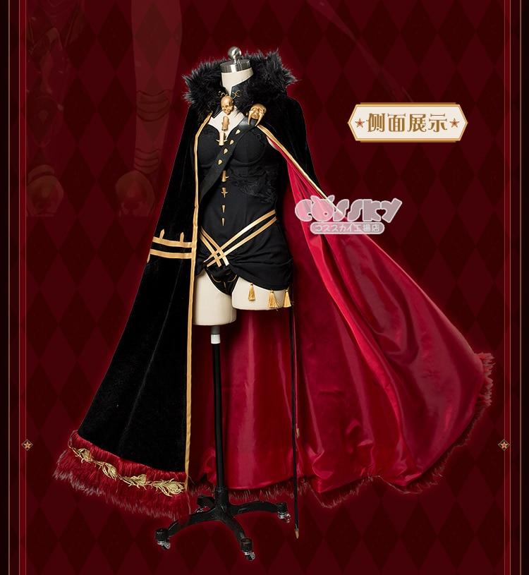 Ereshkigal Irkalla FGO Fate/Grand Order Lancer Ereshkigal Irkalla cosplay costume dress Ereshkigal cos dress female underwear 2