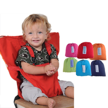 Baby Chair Bag Portable Infant Seat Product Dining Lunch Chair/Seat Safety Belt Feeding High Harness chair seat