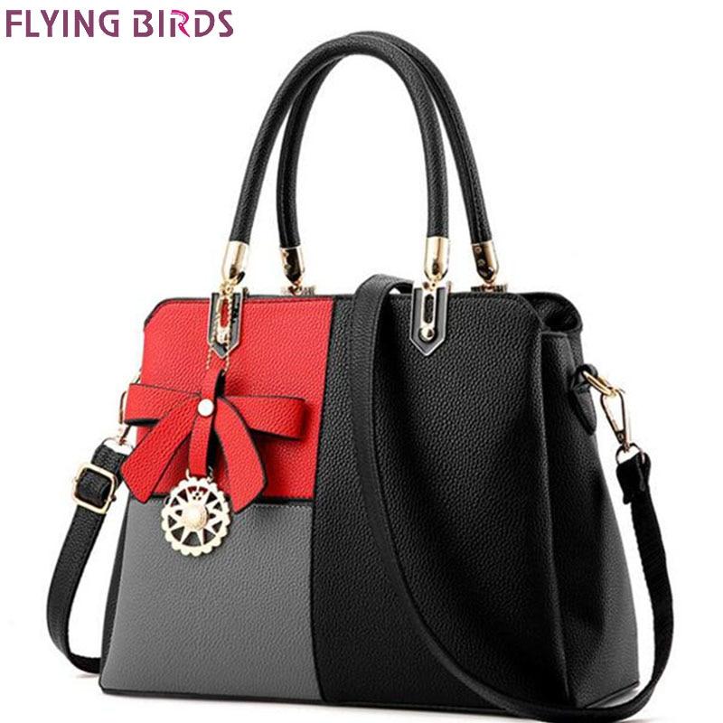 Flying birds women bags ladies women leather handbag designer bolsas 2017 high quality women's messenger bags fashion LM4409fb