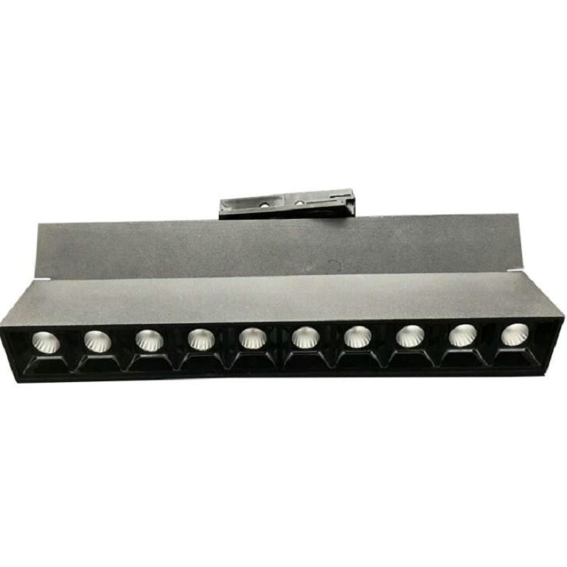 2line 3line 4line COB LED track light 30W CREE LED track spot light 30W LED rail light 220V 30W COB LED track spotlight