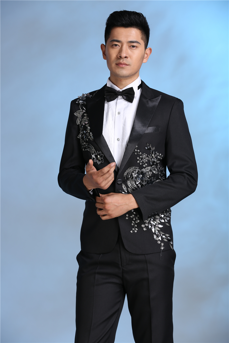 Online Buy Wholesale cheap black suits for men from China cheap ...