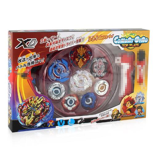4 unids / set Beyblade Arena Spinning Top Metal Fight Bayblade - Juguetes clásicos - foto 5