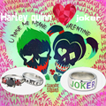 New design Harley quinn ring joker Suicide squads rings lovers ring adjustable ring  Christmas couples jewelry Women necklace
