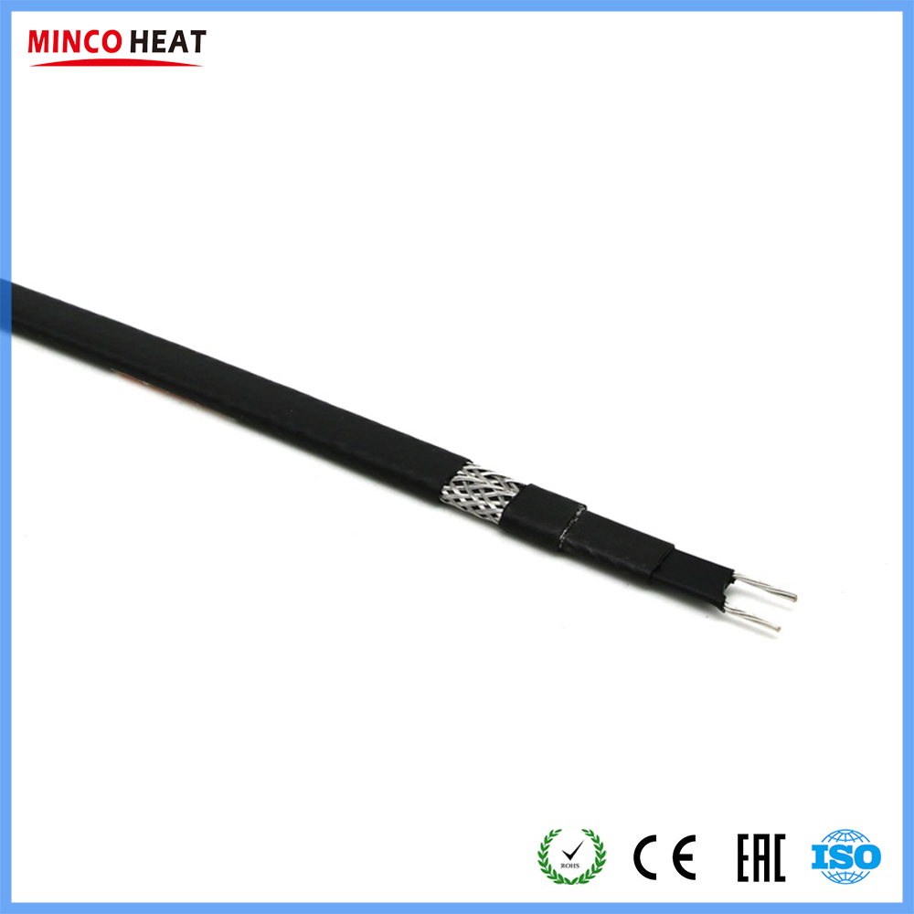 100m Roof and Gutter Deicing Cable Pipe Anti freeze in Winter Pipe insulation Self regulating Heat