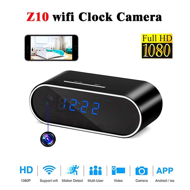 Camera Alarm Clock Micro Nanny Cam Motion Detection Mini DV DVR Video Home 2019