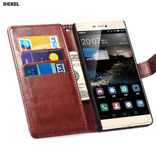 "Wallet Leather Case For Huawei Honor 6X cover 5.5"" Flip Cover bag Phone Cases For Huawei Honor 6X case With Card stand Holders"