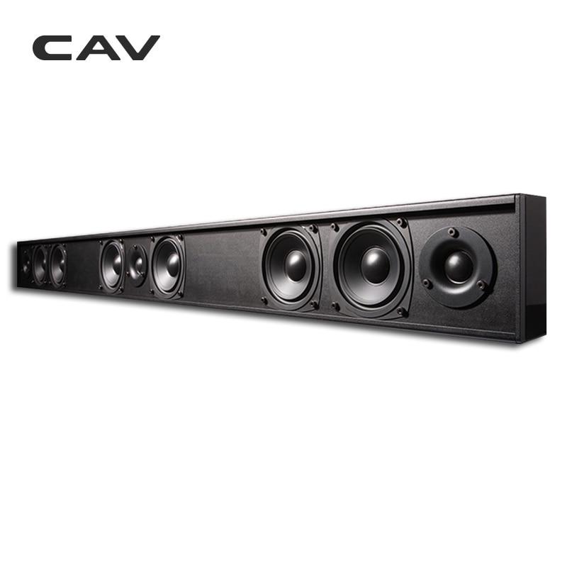 CAV AL210 Passive Speaker Soundbar Column Wired 3 0 Channel Two-Way Home  Theater Passive Speakers Professinal TV Speaker Cinema - dashisland