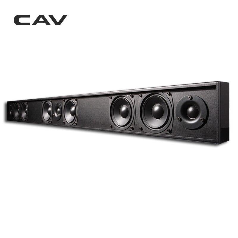 CAV AL210 пассивный динамик Саундбар Колонка проводной 3,0 канал двухсторонний домашний кинотеатр пассивный динамик s Professinal ТВ динамик кино