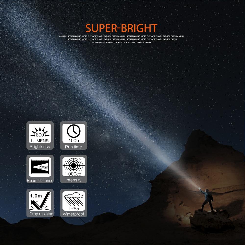 02 LED Flashlight