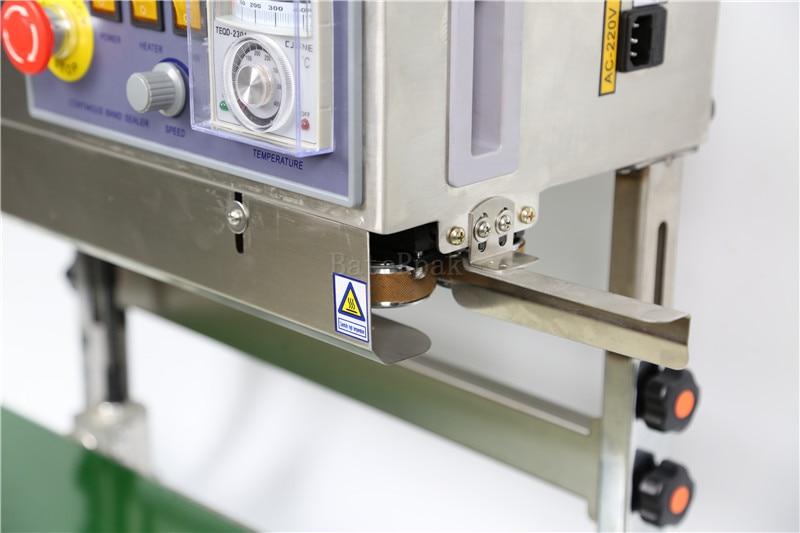 FR-770 Verticale BateRpak Continuous band sealer, roestvrijstalen - Lasapparatuur - Foto 2