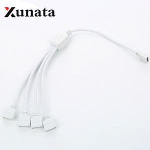 Extension-Wire-Cable Led-Strip Rgbw-Connector 5-Pin 1-In-2-3-4-Splitter Female for Good-Quality