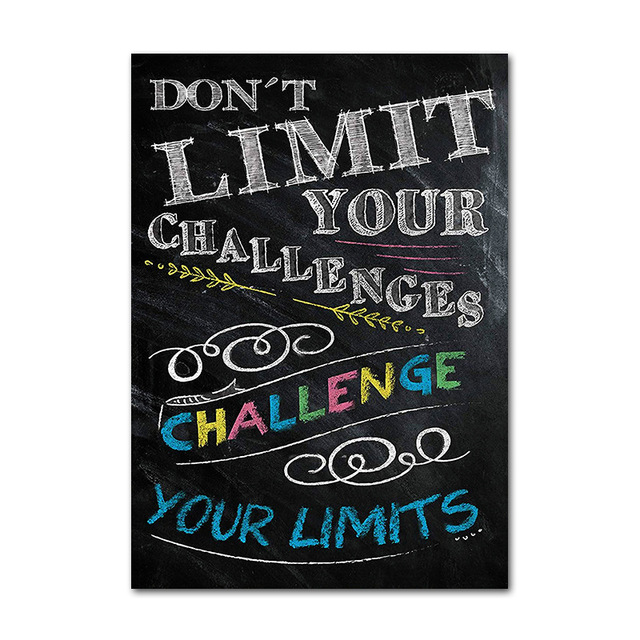 Colorful Motivational Wall Posters