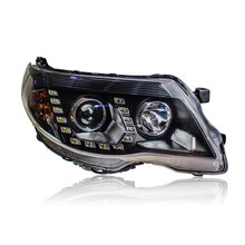 Ownsun LED U Sharp Led-riss-auge DRLs HID Bi-Xenon Projektor Len Original Ersatz Scheinwerfer Für Subaru Forester 2008-2012