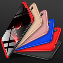 For Huawei Honor 8A Bumper Case Hard PC Matte Back Cover for Huawei honor 8a Phone Shell Pocket Full Protection Armor Case(China)
