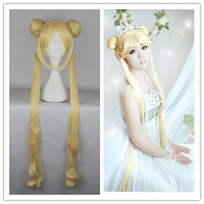 &Wholesale&>> New Gold Cosplay Wig