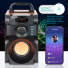 TOPROAD Portable Bluetooth Speaker Wireless Stereo Subwoofer Supper Bass Speakers Boombox Sound Box Support FM Radio TF AUX USB 2