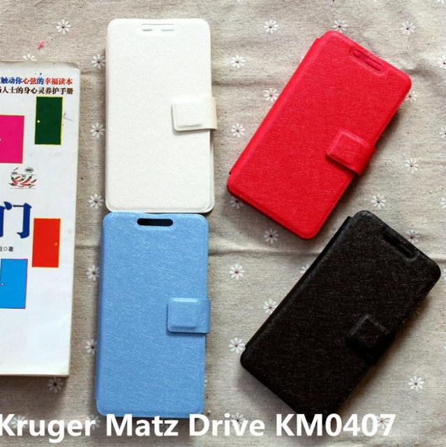 cover case for Kruger Matz Drive KM0407 case cover flip pu leather