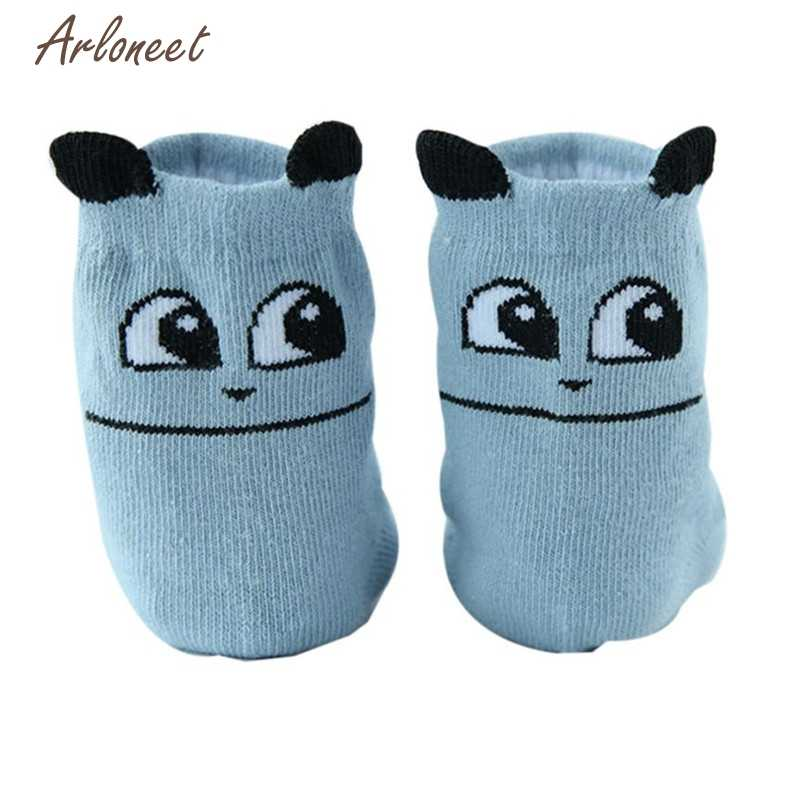 3 Colors Baby Socks Cotton Boy Girl Cute Cartoon Toddler Kids High Quality 2017 Hot New drop shipped ST21