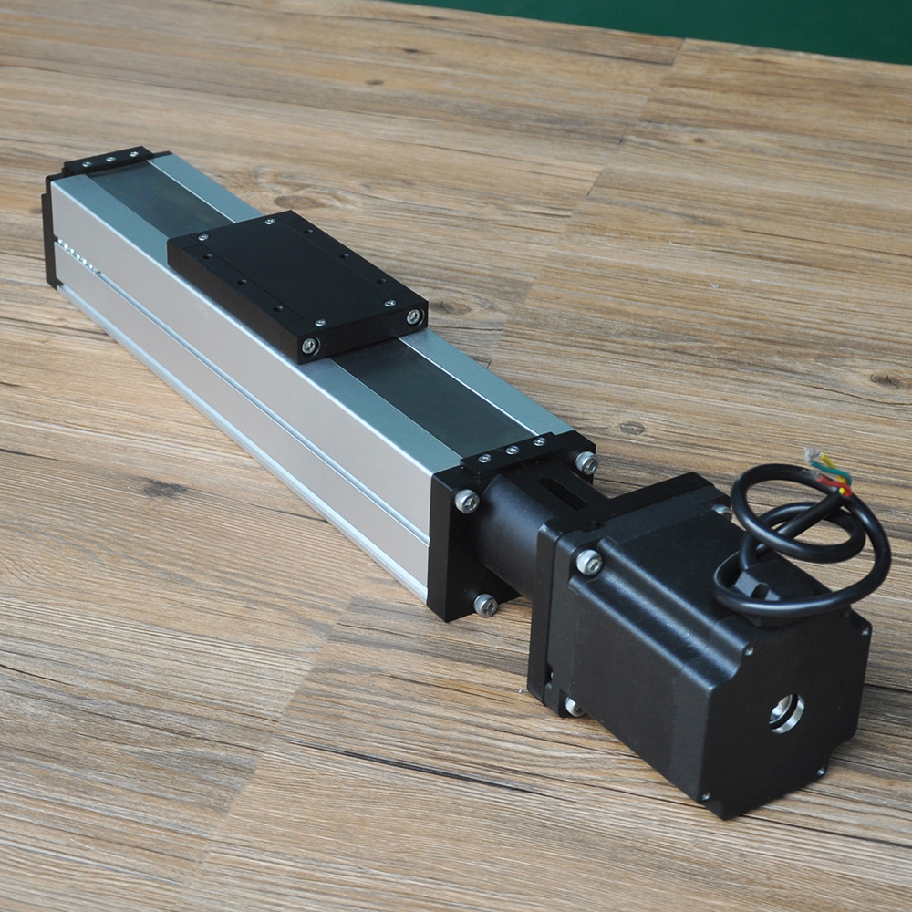 Free Shipping Customized 100mm-1500mm ball screw linear guideway motion rail actuator module for horizontal & vertical movement professional manufacturer linear rail guideway double actuator mini way belt drive actuator for laser machine