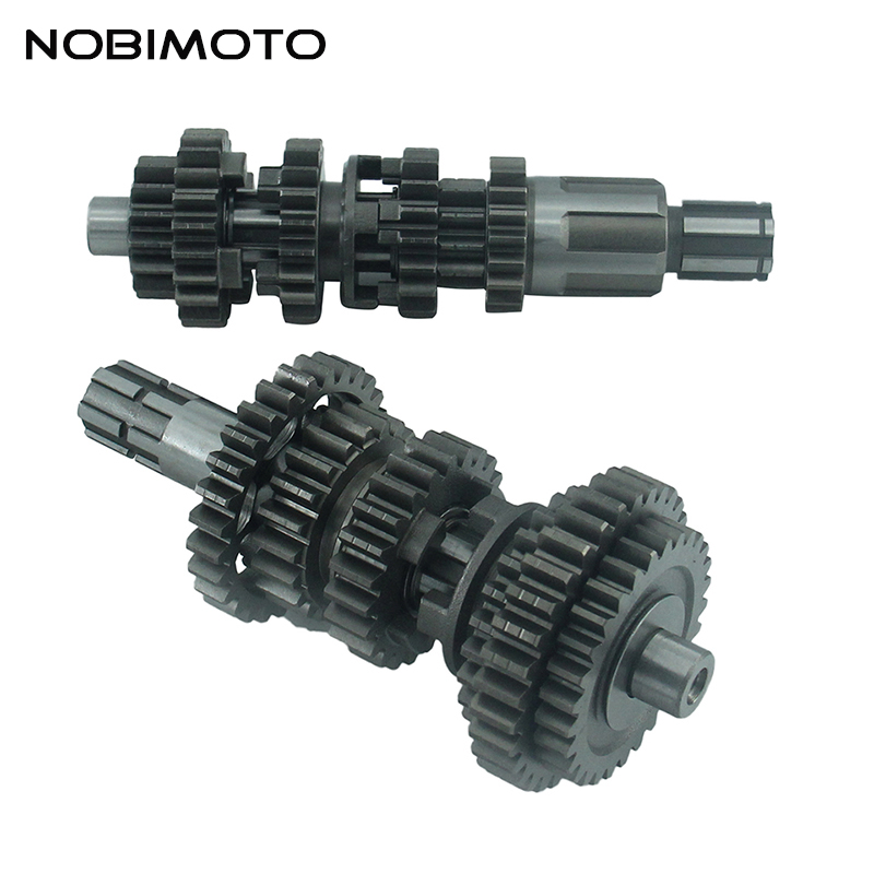 Dirt Bike CG250 Fifth Gear Main Counter Shaft Transmission Gear Box Fit For Chinese CG250 Electric