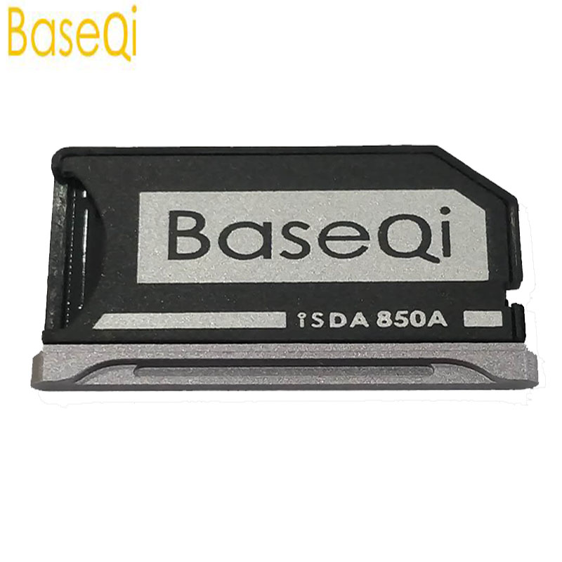 BaseQi For MI Notebook Pro 15.6 Aluminum Mini Drive Micro SD/TF  Card Adapter  (Model 850A )Memory Card Reader
