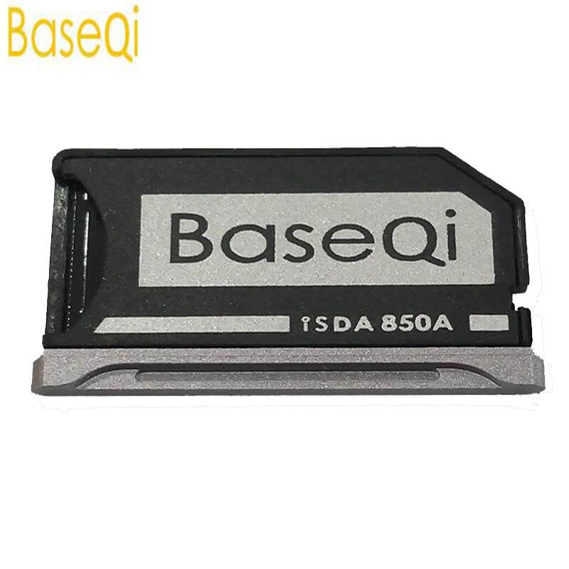 BaseQi para MI Notebook Pro 15,6 Mini Drive de aluminio Micro SD/TF adaptador de tarjeta (modelo 850A) lector de tarjetas de memoria